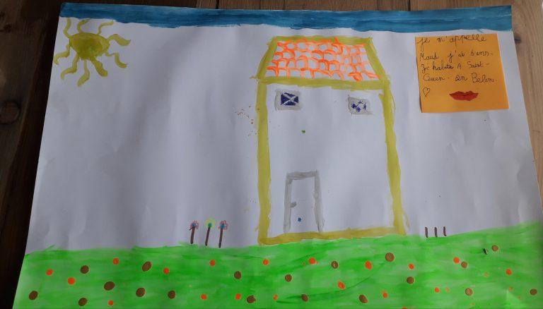 Maud Saint Ouen en Belin 6 ans